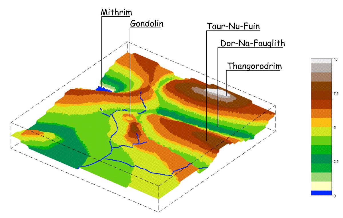 Figure 13. Zoom sur la région de Gondolin.
