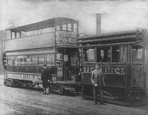 Last Steam Tram 1904
